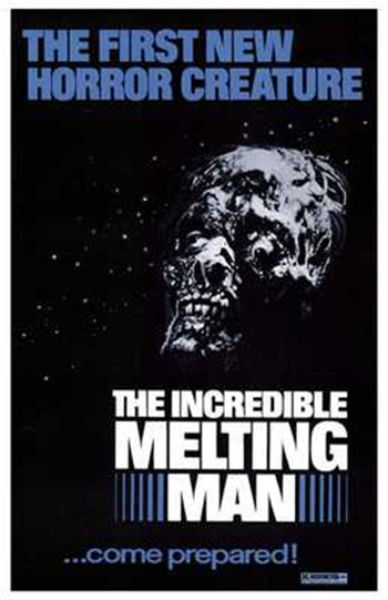 The Incredible Melting Man  Wall Poster