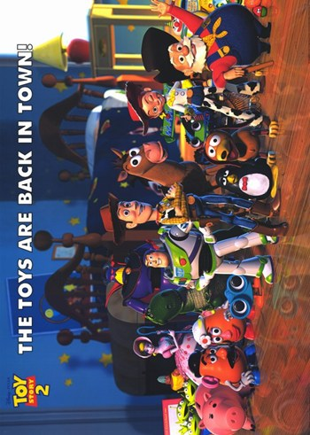 Toy Story 2  Wall Poster