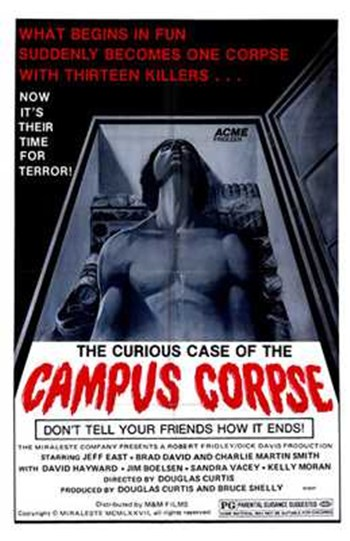 Curious Case of the Campus Corpse  Wall Poster