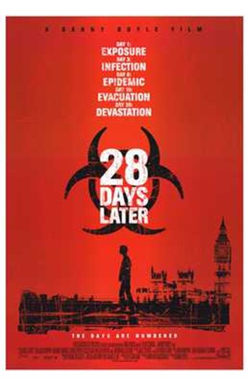 28 Days Later  Wall Poster