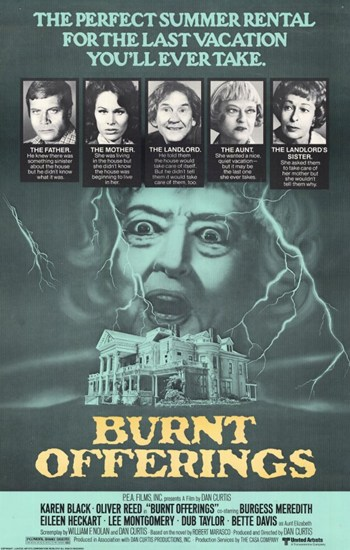 Burnt Offerings  Wall Poster