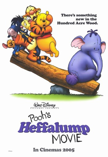 pooh 39 s heffalump movie wall poster winnie the pooh art prints and posters disney pictures. Black Bedroom Furniture Sets. Home Design Ideas