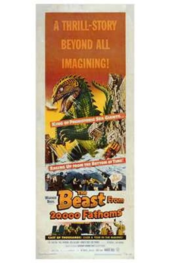 The Beast from 20 000 Fathoms  Wall Poster
