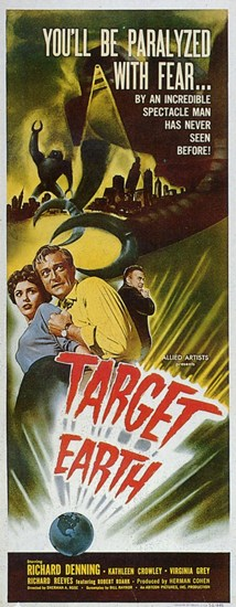 Target Earth  Wall Poster