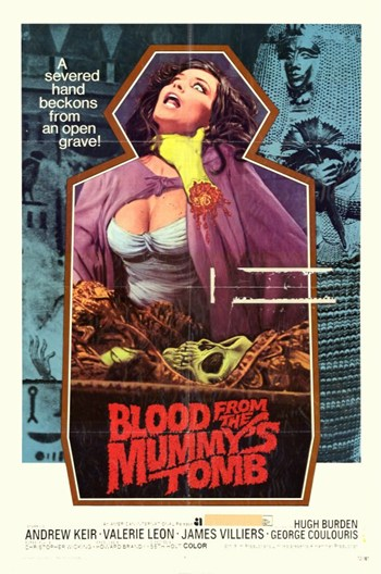 Blood from the Mummy's Tomb  Wall Poster