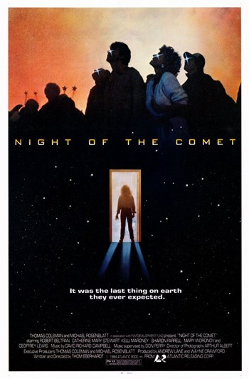 Night of the Comet  Wall Poster