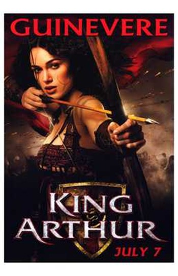 King Arthur  Wall Poster
