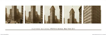 Flatiron Building, Fifth Avenue  Wall Poster