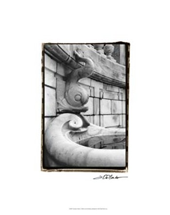 Fountain Fishes  Giclee