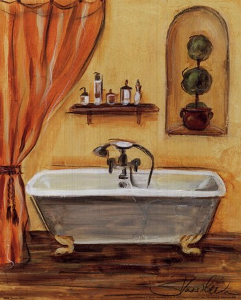 Bath I Fine Art Print Bathrooms Art Prints And Posters Bathroom