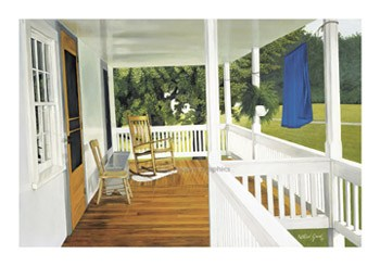 The Porch  Fine-Art Print