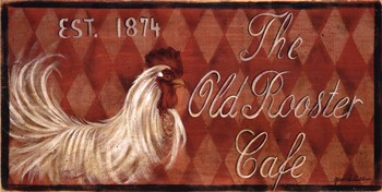 Old Rooster  Fine-Art Print
