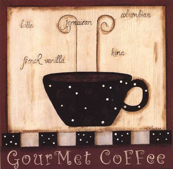 Gourmet Coffee  Fine-Art Print