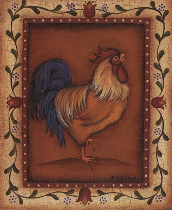 Gold Rooster  Fine-Art Print