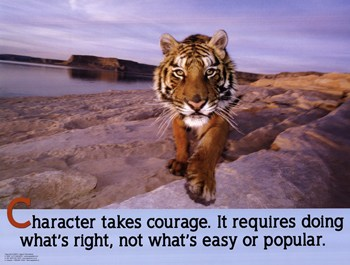Character Takes Courage  Fine-Art Print
