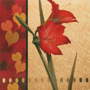 Amaryllis Red Damasque  Fine-Art Print