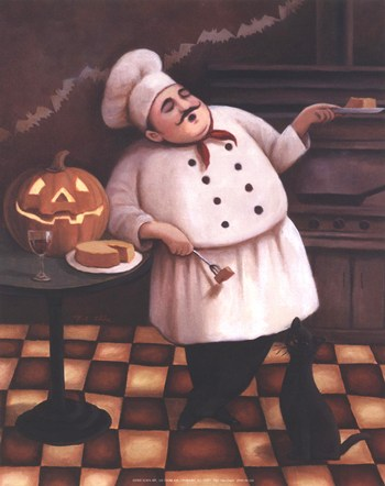 Halloween Chef I  Fine-Art Print