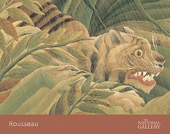 Detail from Tiger in a Tropical Storm (Surprised!), 1891  Fine-Art Print
