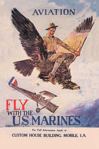 Fly with the U.S. Marines  Fine-Art Print