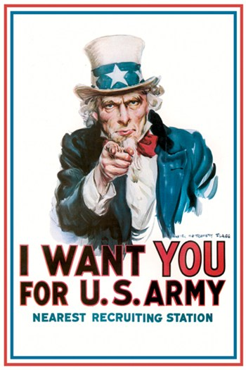 I Want You for the U.S. Army  Fine-Art Print