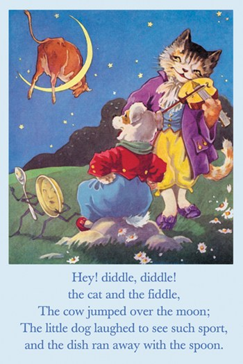 Hey! Diddle, Diddle!  Fine-Art Print