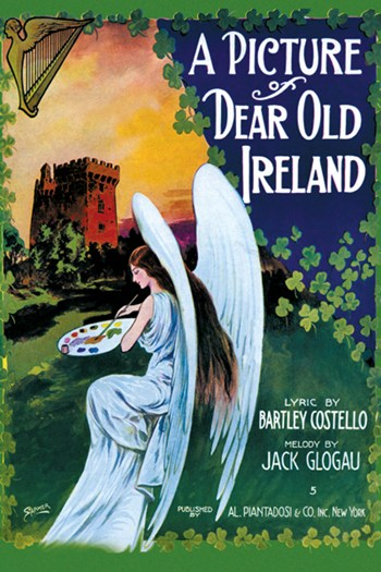 Picture of Dear Old Ireland  Fine-Art Print