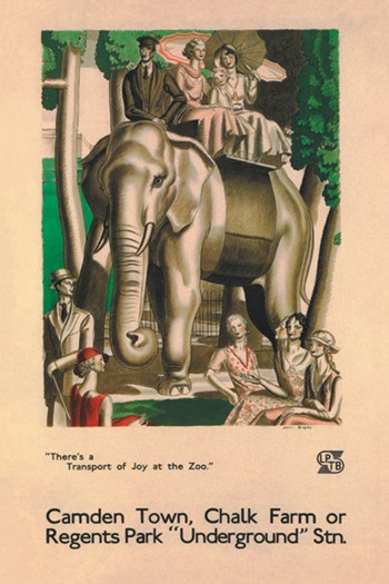 """There's a Transport of Joy at the Zoo""""""""  Fine-Art Print"""