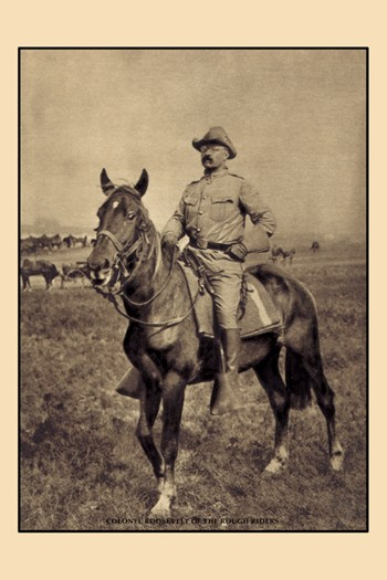 Colonel Roosevelt of the Rough Riders  Fine-Art Print