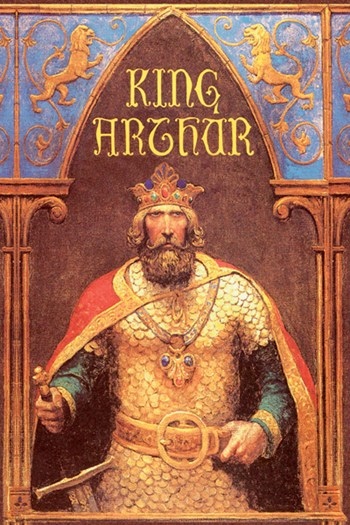 King Arthur  Fine-Art Print