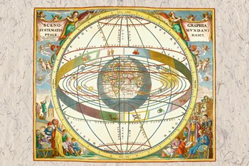 Ptolemaic View of the Universe  Fine-Art Print
