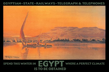 Spend This Winter in Egypt Where a Perfect Climate Is to Be Obtained  Fine-Art Print