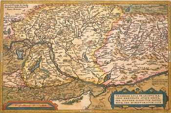 Map Of Eastern Europe FineArt Print Antique Map Art Prints - Map of eastern europe