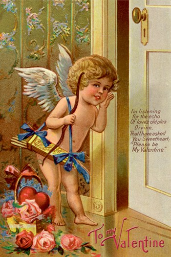 Cupid - To My Valentine  Fine-Art Print
