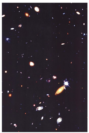 Hubble Deep Field  Fine-Art Print