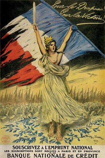 For the Flag, For Victory  Fine-Art Print