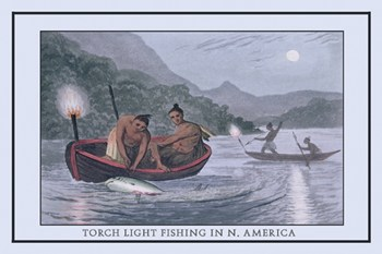 Huntingfishing strategies the iroquois used to hunt and fish