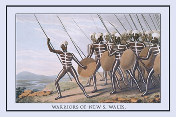 Warriors of New South Wales  Fine-Art Print