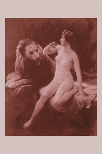 Nude with a Lion  Fine-Art Print