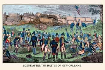 Scene After the Battle of New Orleans  Fine-Art Print