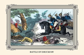 Battle of Emuckfaw  Fine-Art Print