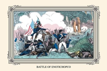 Battle of Enotichopco  Fine-Art Print