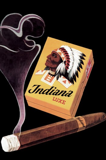 Indiana Luxe Cigars  Fine-Art Print
