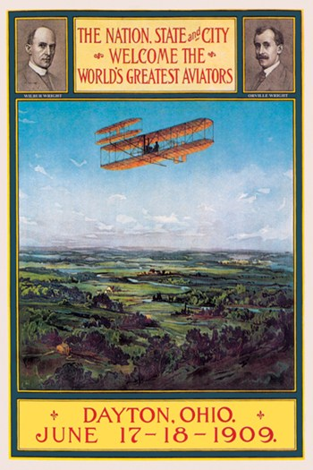 Dayton, Ohio Welcomes the Wright Brothers  Fine-Art Print