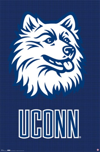 Connecticut - Logo  Wall Poster