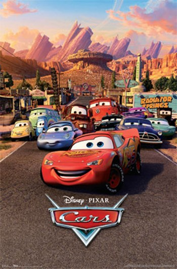 Cars - One Sheet  Wall Poster