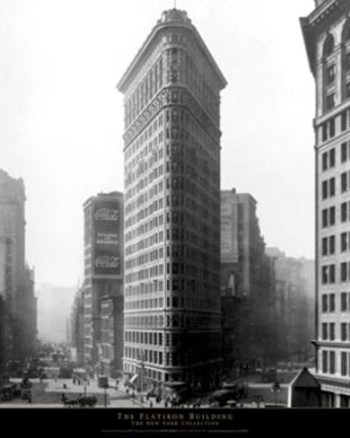 New York City - The Flatiron Building  Wall Poster