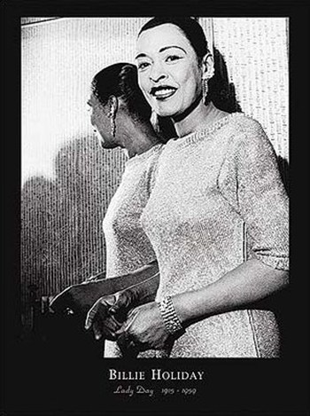 Billie Holiday - Lady Day  Wall Poster