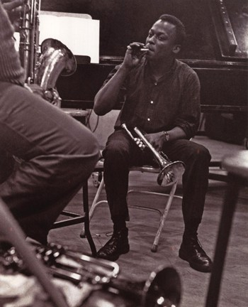 Miles Davis - New York Session (postercard)  Wall Poster