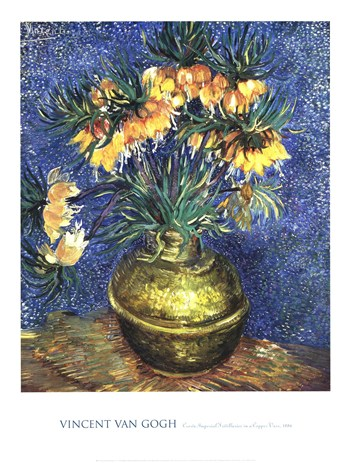 Crown Imperial Fritillaries in a Copper Vase, 1886  Fine-Art Print