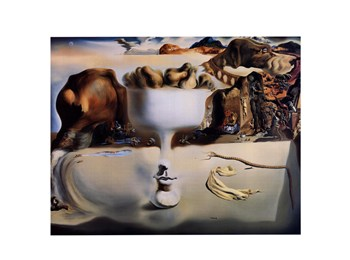 Apparition of Face and Fruit Dish on a Beach, c.1938  Fine-Art Print